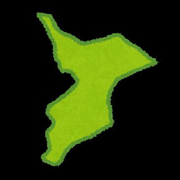千葉県の地形イラスト